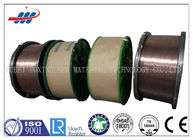 China High Carbon Copper Coated Steel Wire For Brush / Rubber Tube , 0.78-1.65 Wire Gauge factory