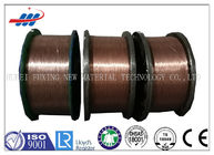 China Motorcycles Type Copper Coated Steel Wire High Elongation with 0.96mm-1.65mm Dia factory