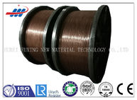 Clear Surface Copper Coated Steel Wire 0.78-1.65 Gauge For Tractor / Truks