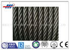 Dia 10mm Steel Core Wire Rope 8x19S+IWRC For Hoisting / Construction