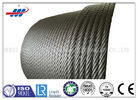 Hot Dipped Galvanized Steel Wire Rope For Building , 19x7 Non Spin Wire Rope Cable
