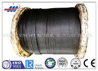 China High Carbon Rope Ungalvanized Steel Wire Rope , High Tensile Steel Core Wire Rope factory