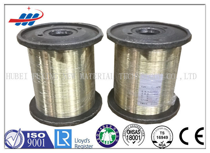 Durable Bright Brush Tyre Steel Wire Dia 0.15mm For Airplane Radial Tyre