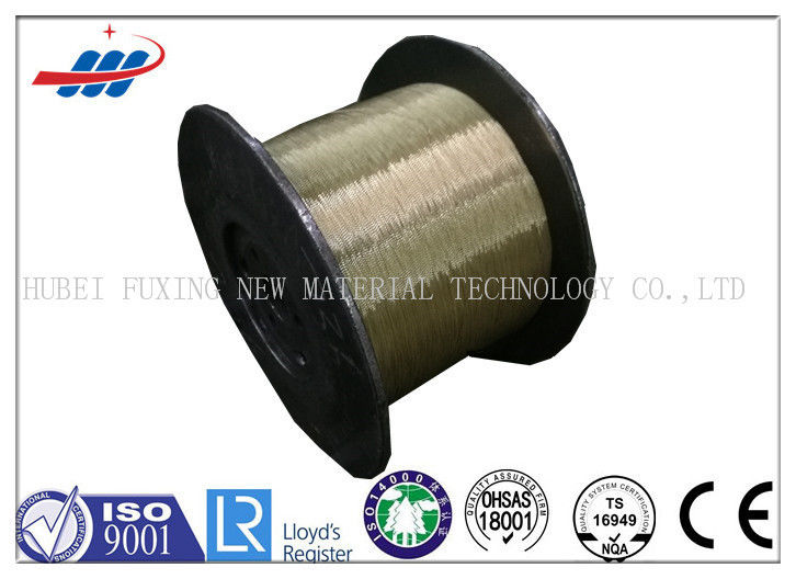Professional 0.30MM Brass Coated Steel Wire For Tyre , Good Conductivity