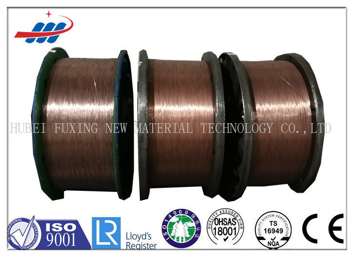 Motorcycles Type Copper Coated Steel Wire High Elongation with 0.96mm-1.65mm Dia