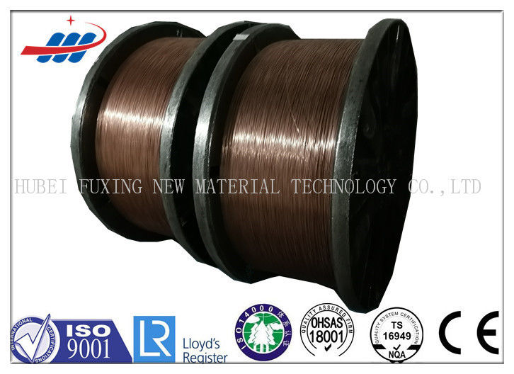 Clear Surface Copper Coated Steel Wire 0.78-1.65 Gauge For Tractor ...