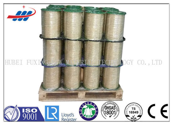 High Dimensional Accuracy Steel Tire Cord 2x2x0.28 With Excellent Surface Coating
