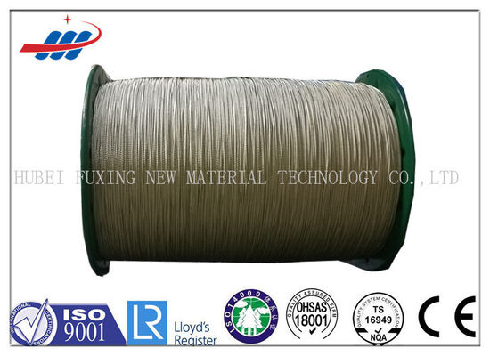 Corrosion Resistance Brass Plated Steel Wire 72A For Tyre Belt / Carcass