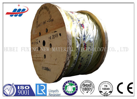 Construciton Hot Dipped Galvanized Steel Wire Rope 7x7 With 6-48mm Wire Gauge