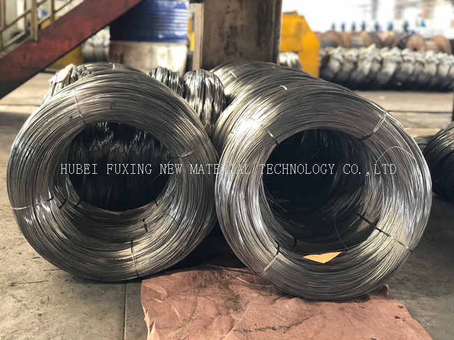 Construction Material High Carbon Steel Wire Rod With 0.40mm-4.0mm Dia